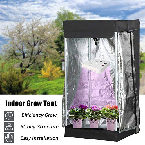 CRZJ Indoor Grow Zeltraum, Mylar Reflective Grow Zelt für Indoor Hydroponic Growing System