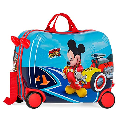 Disney Lets Roll Mickey Valigia per bambini 50 centimeters 39 Multicolore (Multicolor)