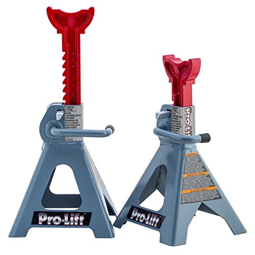 Pro-LifT T-6903D Double Pin Jack Stands - 3 Ton