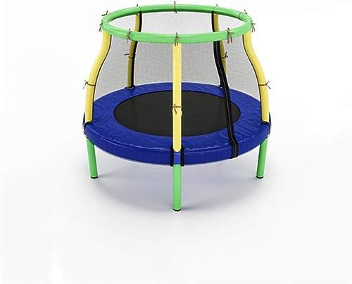 WZLDP Trampolines, El trampolín de los Niños del hogar, el bebé Que Salta en Interiores con la Cama Projoectora de los reposabrazos Netos. Cama para Saltar