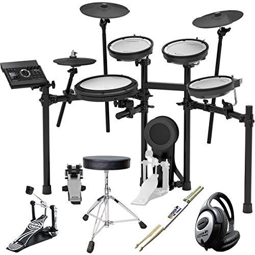 Roland TD-17KV E-Drum Schlagzeug + Pedal + keepdrum Zubehör Set