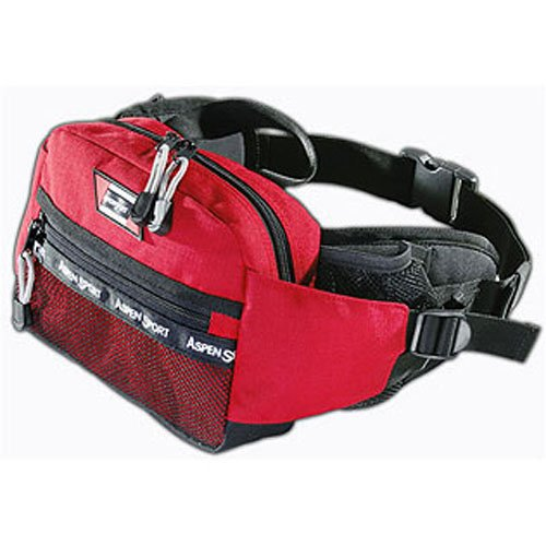 AspenSport Hüfttasche Travel, rot, 25 x 8 x 18 cm