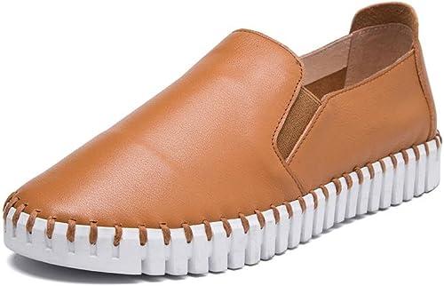 Dames Femmes Nouveaux Flats Chaussures Uniques Douces Loisirs Chaussures Chaussures à Pied