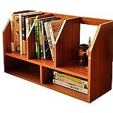 ZMSJ-YJ Bücherregal/Schreibtisch Holz Bücherregal Schüler Kind einfach Desktop kleine Bücherregal Lagerregal Büro kleine Bücherregal Bücherregal (Farbe : 1)