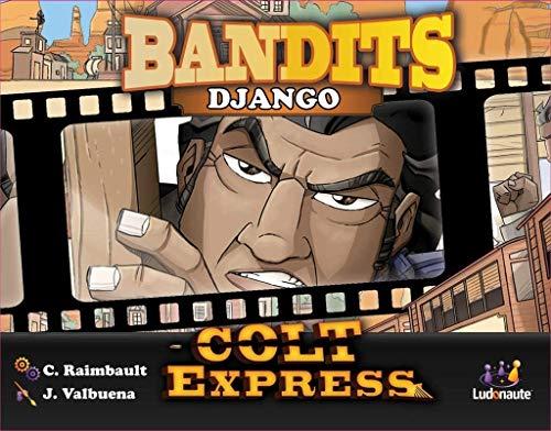 Asmodee- Colt Express: Bandits Pack Django Expansion en Castellano, Color (LUCOEX07NA)