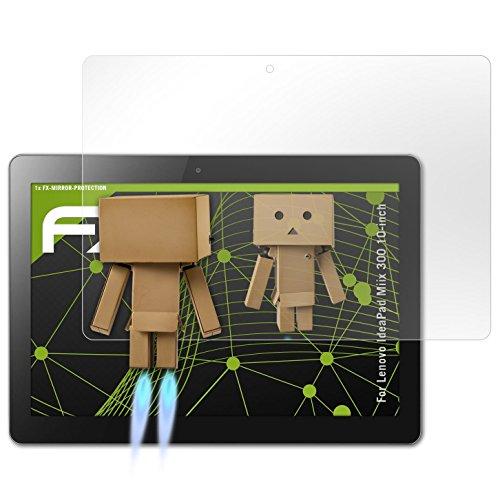 atFolix Bildschirmfolie kompatibel mit Lenovo IdeaPad Miix 300 10-inch Spiegelfolie, Spiegeleffekt FX Schutzfolie