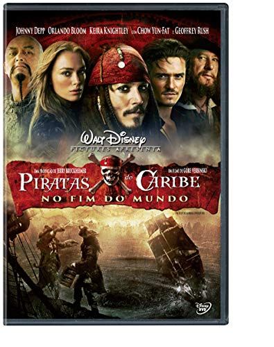 Piratas Do Caribe: No Fim Do Mundo [DVD] Simples