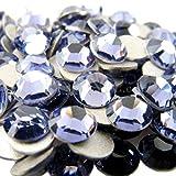 PENVEAT Ss2, ss3, ss4, ss5 AAAAA Cristal hotfix Rhinestone Super Bright Glass Strass 3D Nail Art Decoration, Violet, ss6 1440pcs