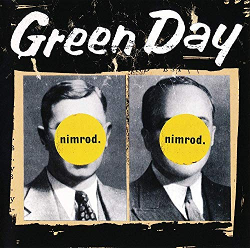 Lost Posters Album Cover Poster Thick Green Day: Nimrod Music giclee Record LP Reprint 12x12