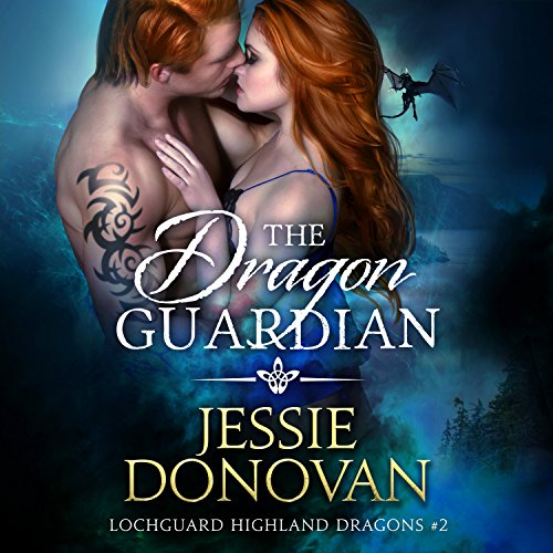 The Dragon Guardian audiobook cover art