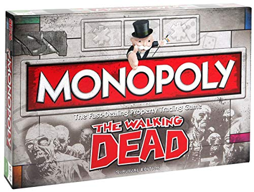The Walking Dead Monopoly Brettspiel Standard