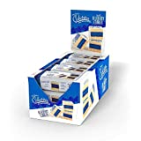 The Original Cakebites by Cookies United, Grab and Go, Bite Sized Snack, Iced Blueberry Cobbler, 12 Pack Display
