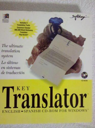 Softkey Translator English Spanish Cd-rom