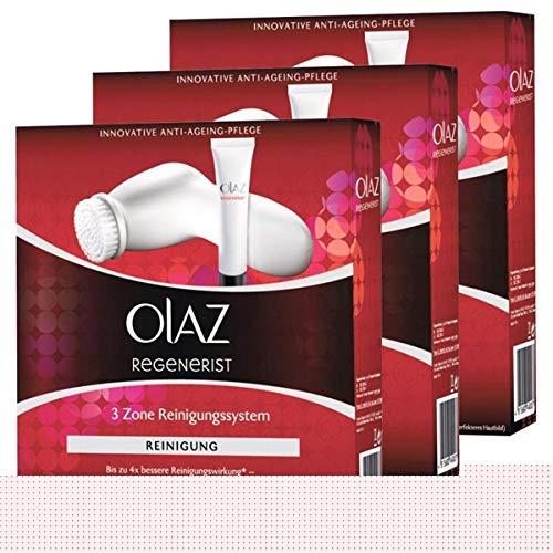 Olaz Regenerist 3 Zone Reinigungssystem-Innovative Anti-Ageing-Pflege (3er Pack)