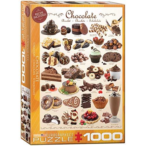 EuroGraphics EG60000411 Puzzle Schokolade