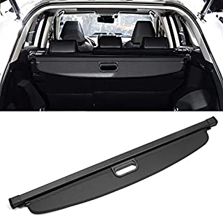 ITrims ¡Nuevo! para Toyota RAV4 2019 2020, Cubierta de Seguridad retráctil para el Interior del Maletero, Color Negro