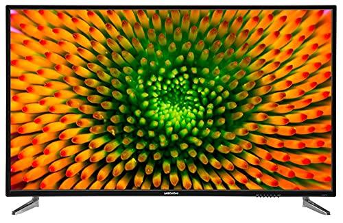 MEDION P16512 163,8 cm (65 Zoll) UHD Fernseher (4K Ultra HD, HDR, Triple Tuner, DVB-T2 HD, PVR, USB, HDMI, CI+, Mediaplayer)