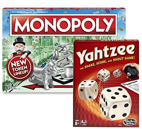 Classic Monopoly & Classic Yahtzee Bundle