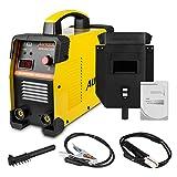 autool electrodos sudor dispositivo Luz Arco Arc MMA IGBT 160A sudor Inverter Juego electrodo con pantalla soporte actualizada 1/8pulgadas sudor Varilla 220V 110V de la UE conector