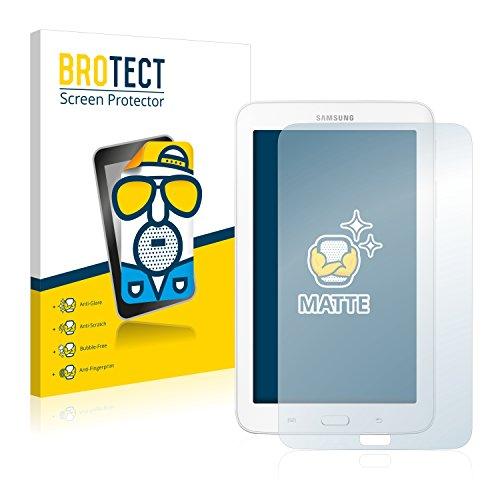 BROTECT 2X Entspiegelungs-Schutzfolie kompatibel mit Samsung Galaxy Tab 3 (7.0) Lite SM-T110 Bildschirmschutz-Folie Matt, Anti-Reflex, Anti-Fingerprint