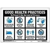 HY-KO Products 20622 Good Health PRCT 12 X 8.5 サイン マルチ