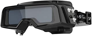 YESWELDER True Color Auto Darkening Welding Goggles,Wide Shade Range 4/5-9/9-13 with..