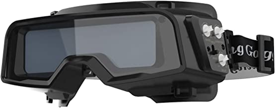 YESWELDER True Color Auto Darkening Welding Goggles,Wide Shade Range 4/5-9/9-13 with..