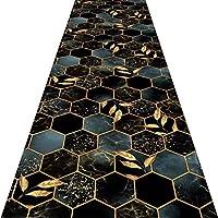 廊下敷きカーペッ、3D ラグプロテクター ラバーバッキング デザインスキッド 柔らかい 極細繊維 にとって 室内装飾 ポーチ、 カスタムサイズ (Color : B, Size : 1.4x7m)