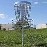 GrowTheSport Permanent Disc Golf Course Basket - PDGA Championship Approved - Course Ready