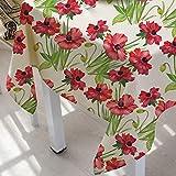 Mantel Moderno Simple con Estampado De Flores, Mantel Pequeño Y Fresco para El Hogar, Mantel Rectangular para Mesa De Centro
