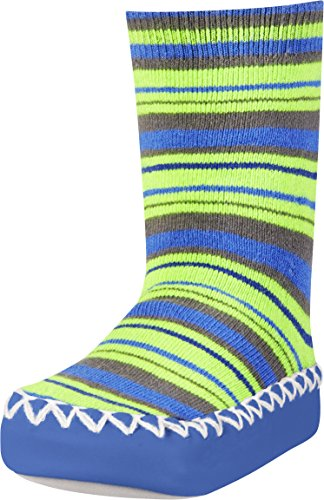 Playshoes Anti-Slip Cotton Socks Stripes Pantuflas Unisex Niños