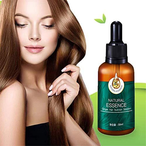 7x Snelle Haargroei Behandeling, Gember Snelle Haargroei Serum Etherische Olie Anti Voorkomen Haarverlies, Snelle Haargroei Serum Voor Afro Haar, Anti Haaruitval Shampoo Ginge (1 pcs)