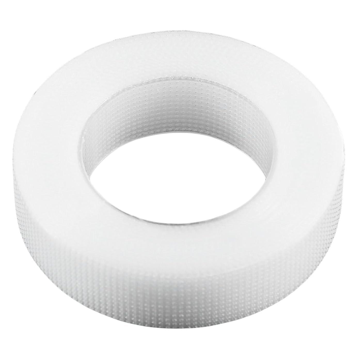 使役樫の木長椅子1ロール1.25×9メートルプロ白まつげエクステンション不織布ラップテープセットアイケアキット用まつげ用 - 透明