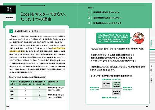『できるYouTuber式 Excel 現場の教科書(「本×動画」で学ぶ新しい独習~180万回再生の実績! )』の1枚目の画像