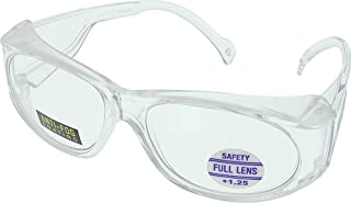 MS Magnifying Safety Glasses - Anti-Fog, 2.50 - MS250