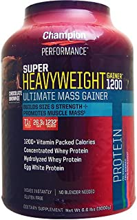 Super Heavy Weight Gainer 1200 3kg Chocolate Brownie 【海外直送品】