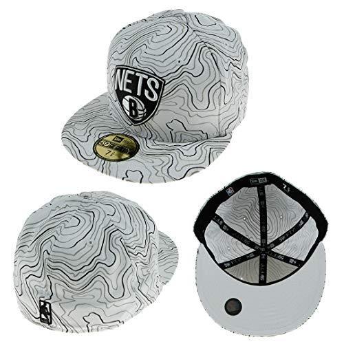 New Era Contorno Crown Brooklyn Nets NBA Fullcap Blanco 6 7/8