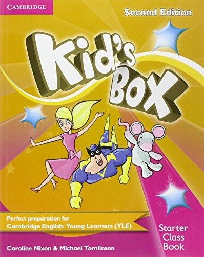 Kid's Box Starter Class Book [With CDROM]