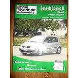 RRTA0679.1 REVUE TECHNIQUE AUTOMOBILE RENAULT SCENIC II Diesel depuis 06/2003