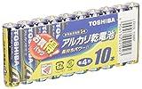 東芝 アルカリ乾電池 単4形10本パック LR03L 10MP