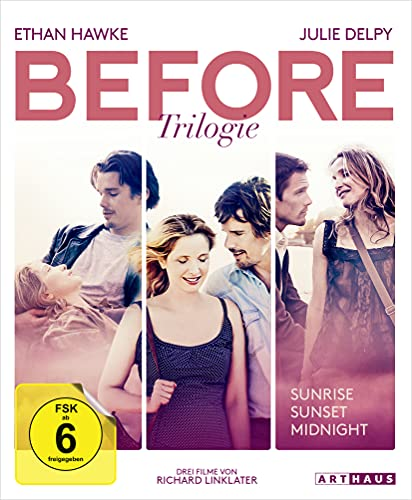 Before Trilogie: Before Sunset / Before Sunrise / Before Midnight [Blu-ray]