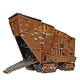 HYZH Tecnología de control remoto Sandcrawler, Mould King 21009, 13168, bloques de construcción de 2,4 GHz/APP, gran tecnología MOC, con mando a distancia y motores, compatible con Lego Technic