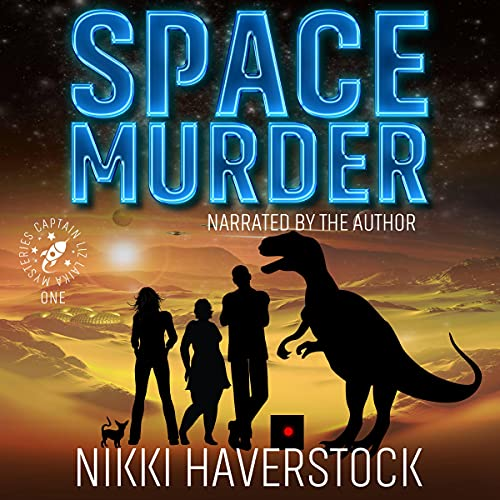 Space Murder Audiobook By Nikki Haverstock cover art