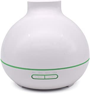 Rayem Smart Mini humidifier Aromatherapy Essential Oil Disperser Portable Diffuser Cooling Mist Humidifier and Air Purifier (Color : White)
