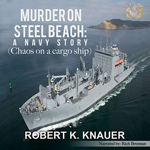 Murder on Steel Beach audiobook cover art