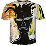 SSBZYES Camiseta De Hombre Camiseta De Manga Corta De Verano De Talla Grande Camiseta De Cuello Redondo Camiseta De Hombre Camiseta Deportiva Camiseta De Manga Corta con Estampado De Graffiti