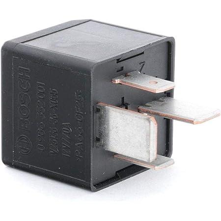 Bosch 0986332001 Mini Relais 12v 40a Ip5k4 Betriebstemperatur Von 40 C Bis 85 C Schließer Relais 4 Pins Auto