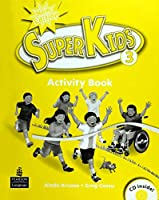 SuperKids (2E) Level 3 Activity Book with CD