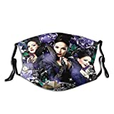 Face Mask Mask Regina Mills Once Upon A Time Adult Wind and Dust-Proof Face with Filter Pcs Black