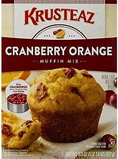 cranberry orange muffins krusteaz